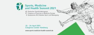 Sports, Medicine and Health Summit Hamburg 2021 @ Congress Center Hamburg (CCH) Am Dammtor